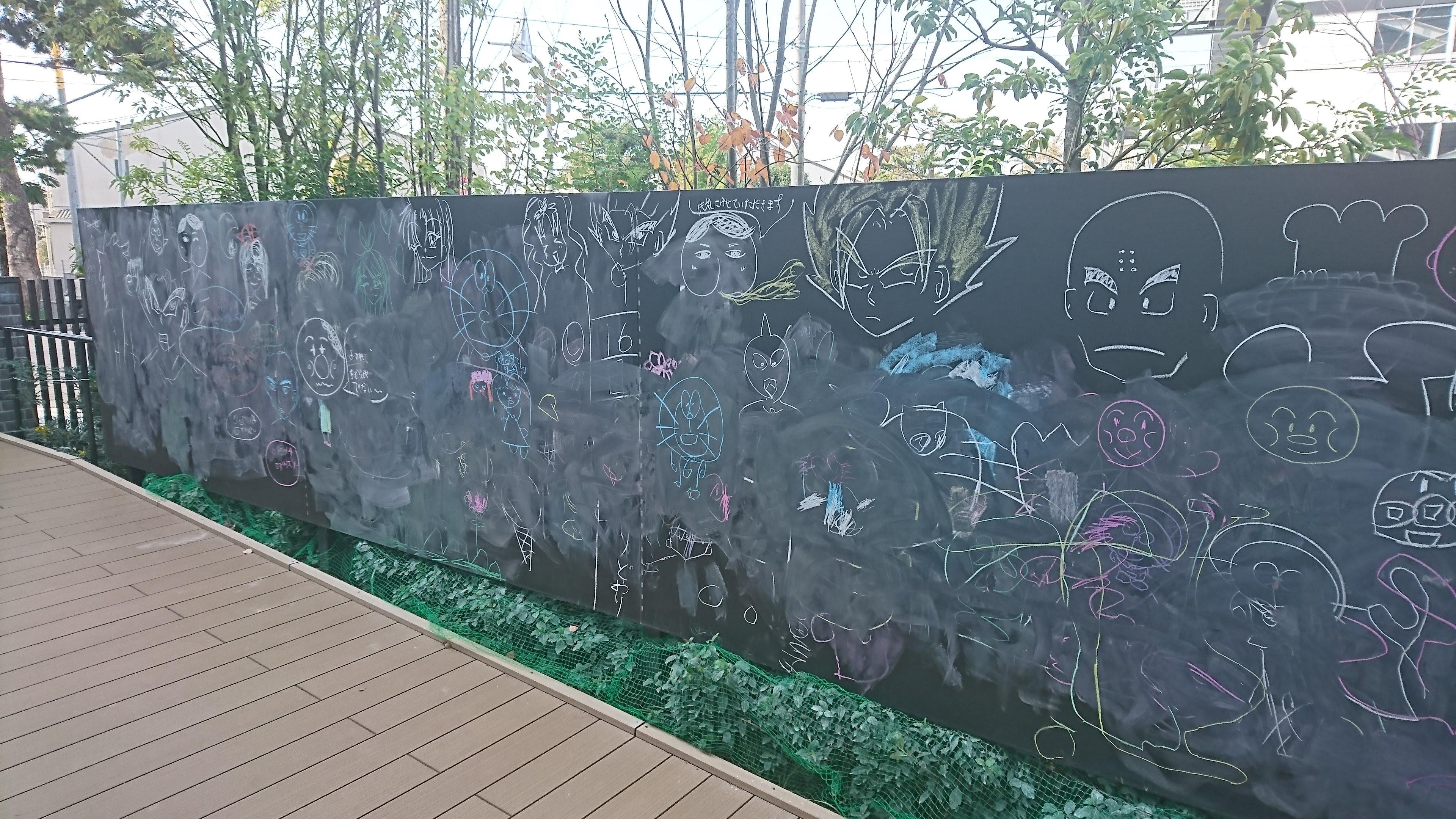 東映アニメーションギャラリー 黒板