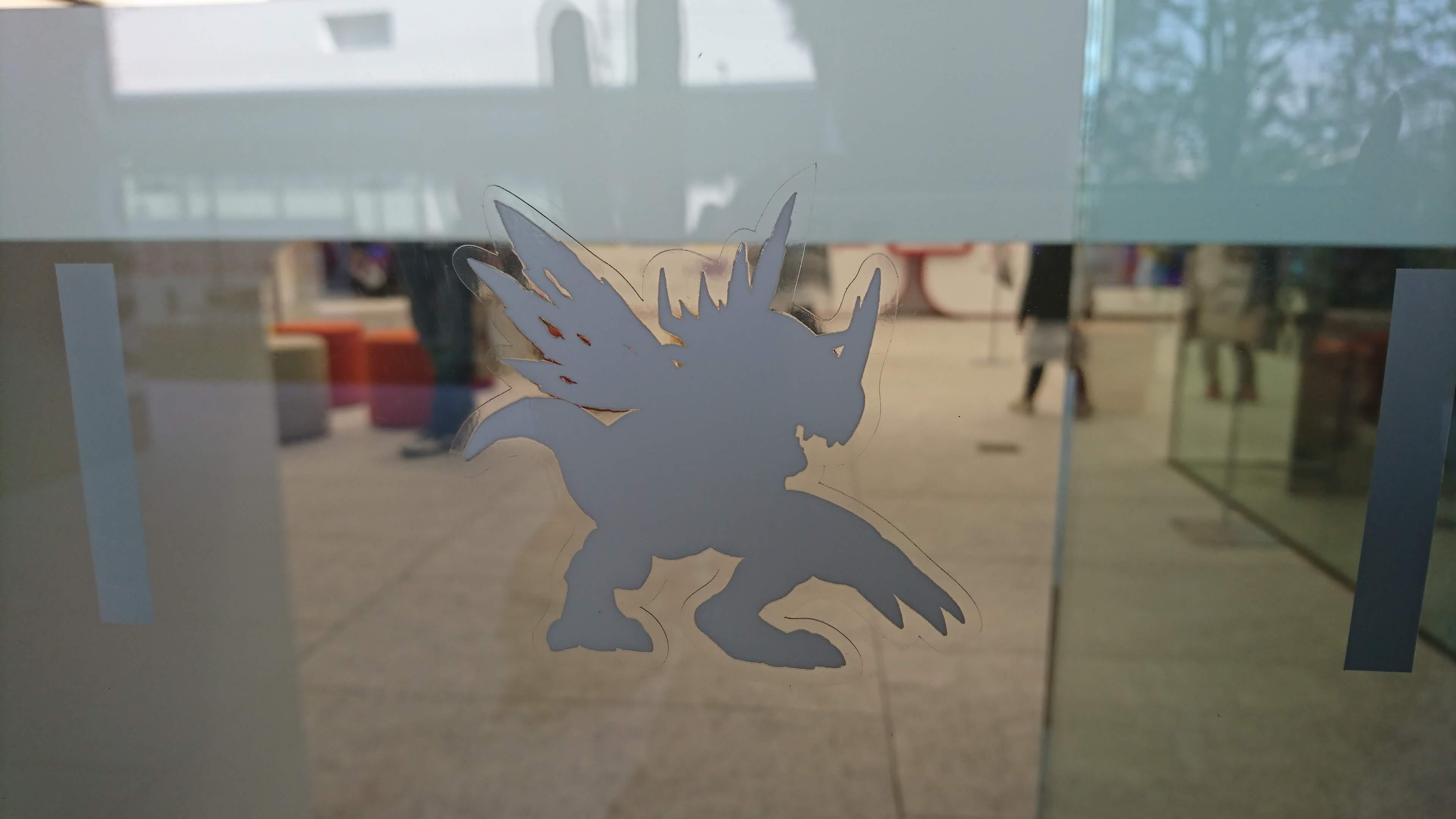 東映アニメーションミュージアム デジモンシルエット