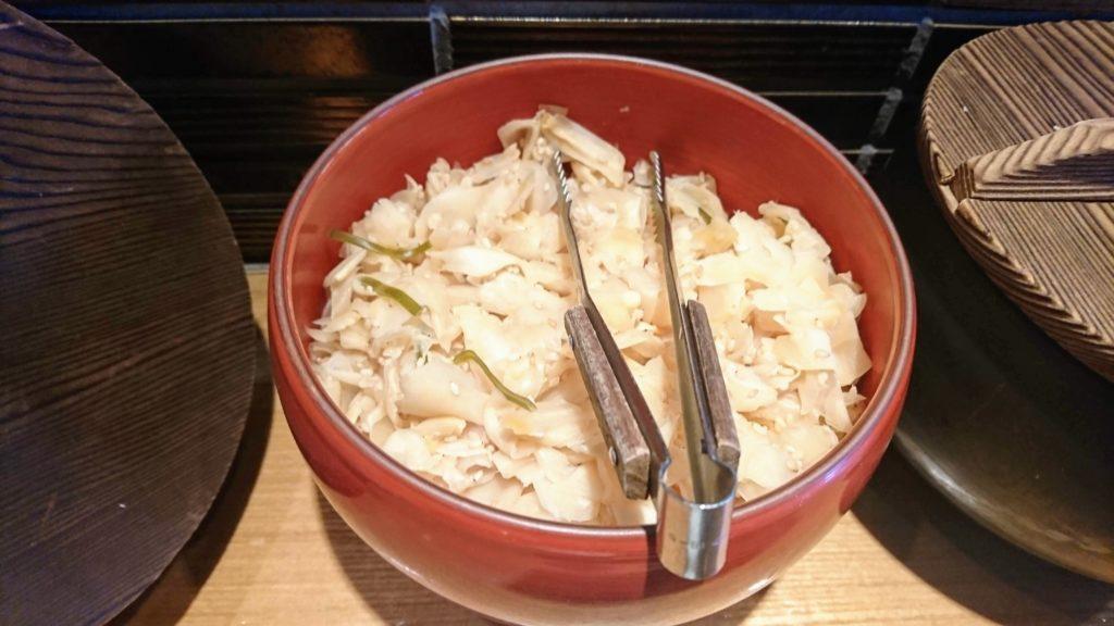 天丼 金子半之助 神田小川町店 ガリ